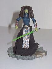 Star Wars Luminara Unduli Jedi Maestro Figura De Juguete Con Base & Sable de Luz