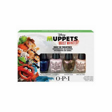 OPI Muppets Most Wanted Mini Nail Lacquers Polish 4pc Set .1/8oz NIB AUTHENTIC