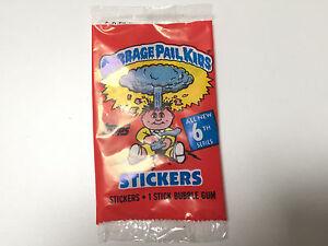 1988 UK Garbage Pail Kids 6th Series PACK (0-117-0-7)