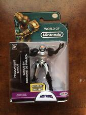 World of Nintendo Metroid Phazon Suit Samus Figure Walgreens Exclusive 1-4 Jakks
