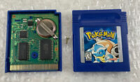 Pokemon Blue Version (Nintendo Game Boy, 1998) Cart Only, Authentic Tested/Works