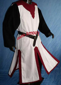 Medival Surcoat Tabart Tunic Sleeveless Middle Ages SCA Larp Reenactment