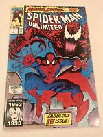Spider-Man Unlimited #1 SIGNED RON LIM Maximum Carnage See Pics F-VF?
