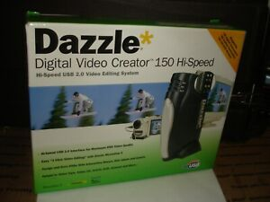 New Dazzle Digital Video Creator 150 Hi Speed USB 2.0 video editing SEALED bi901