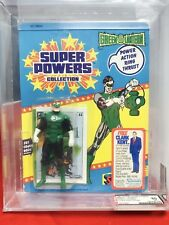 Vintage Super Powers Green Lantern 23 Back MOC AFA 80 Kenner 1985 RARE