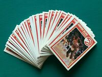 (30) 1989-1990 Fleer DOMINIQUE WILKINS Atlanta Hawks Basketball Cards #7 NM-MT++