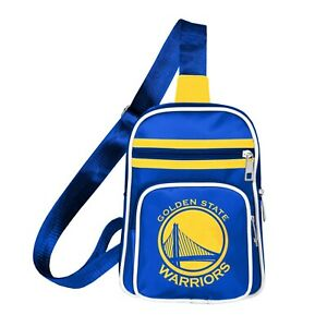 Golden State Warriors NBA Mini Cross Sling Backpack Bag Bookbag Tote Purse New