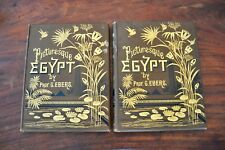 Egypt: Descriptive, Historical, and Picturesque, EBERS, G.