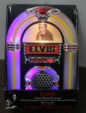 Elvis Tabletop Jukebox Musical Collectible Wurlitzer Christmas Decoration New< 00006000 /a>