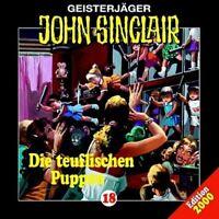 JOHN SINCLAIR FOLGE 18 - DIE TEUFLISCHEN PUPPEN)  CD NEW