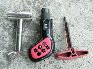 VTG Skateboard Tool Lot Of Three - Pig, Kryptonics, Powell Bones - Used