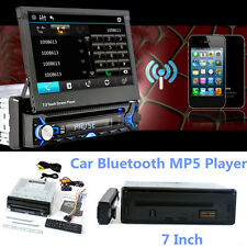 """1 Din 7"""" HD Touch Screen Car Bluetooth MP5 Player Audio With Contraction Screen"""
