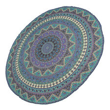 60''/150cm Round Indian Mandala Tablecloth Cover Wedding/Dessert Dinning Table