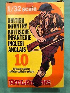 Atlantic British Infantry 1/32 mint in box