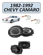 Fits Chevrolet Camaro 1982-1992 Factory Speaker Upgrade Combo Kit, PIONEER