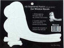 Macaw  Parrot BIRD STICKER Window Car Decal Cartoon