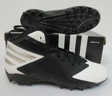 the latest 7cc0e f703c adidas freak md football cleats B42358 black,white  and Silver Mens 8.5