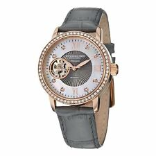Stuhrling Original 710 04 Women's Memoire Date Grey Watch
