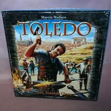 Toledo Art, Steel & Glory Mayfair Board Game 2008 Unplayed Complete Excellent