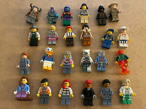 LEGO MINI FIGURE JOB LOT x24 Spares Parts Etc Nice Condition With Donald Duck