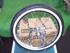 CAGE  SPARE TIRE  KIT TWISTED WITH WHEEL/TIRE  BIKE  BMX LOWRIDER NEW