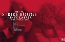 Gundam 1/60 Strike Rouge + Sky Grasper MBF-02 Perfect Grade Model Kit Pg Bandai
