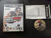 NFL 2K3, Case & Game, TESTED (Nintendo GameCube, 2002)