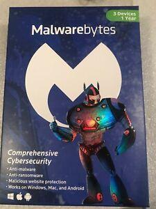 Malwarebytes Anti-Malware Premium 3.0 for 3 Device / 1 year Key Card (NO CD)