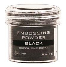 Ranger Basics Embossing Powders Super Fine Black epj37392