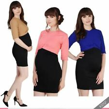 Jersey Short Sleeve Plus Size Maternity Dresses