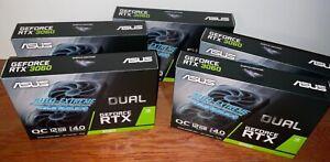 ASUS DUAL Nvidia GeForce RTX 3060 OC 3 Jahre Garantie 12GB GPU GDDR6 Grafikkarte