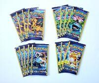 Pokemon XY Evolutions 3 Card Booster Packs Lot of 16 Charizard Blastoise Arts