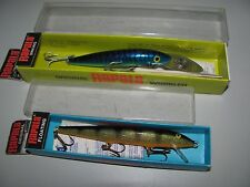 Vintage Original Rapala Uppova-Kelluva Mixed Lot Lures New Old Stock