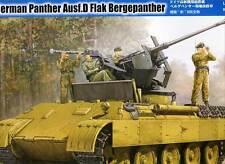 HobbyBoss German Panther Ausf.D Flak Bergepanther inkl.Ätzteile 1:35 Flakpanzer