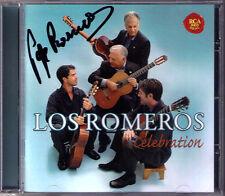 Pepe ROMERO Signed CELEBRATION Villa-Lobos Breton Pachelbel Rodrigo LOS ROMEROS