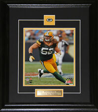 Clay Matthews Green Bay Packers 8x10 NFL Football Memorabilia Collector Frame