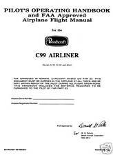 BEECHCRAFT C99 AIRLINER - PILOT'S OPERATING HANDBOOK