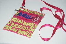 Robin Ruth, Women's Berlin Shoulder Bag [ Pink & Hi-Vi Yellow ]