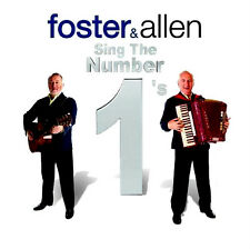 FOSTER AND ALLEN ~ Sing The Number 1's NEW ******* SEALED ******* 2 CD SET 💿💿