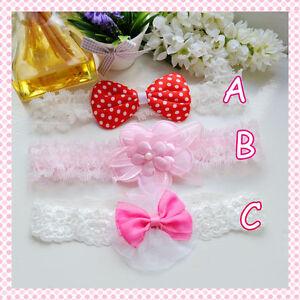 Girls & Baby Lovely Headband 0-3Y Christening/ Wedding/ Birthday