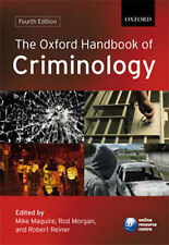 Criminology Law Adult Learning & University Books