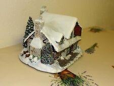 Thomas Kinkade SANTA WORKSHOP TOYS - Village Christmas - Weihnachten Lichthaus