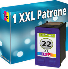 TINTE PATRONEN für HP 22 XL KOMPATIBEL DRUCKER PATRONE REFILL