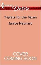 Triplets for the Texan (Texas Cattleman's Club: Blackmail)