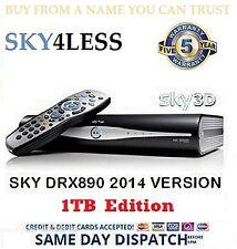 1TB EXEMPLAIRE DE DÉMONSTRATION SKY+HD BOX RÉCEPTEUR SATELLITE AMSTRAD DRX890