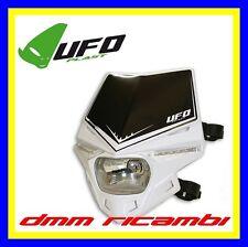 Portafaro Enduro UFO STEALTH con Led omologato HS1 faro anteriore bianco Motard