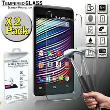 2 Pack Tempered Glass Screen Protector for Argos Bush 5 Inch Android Smartphone