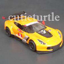 Kinsmart 2016 Chevrolet Corvette C7 R 1:36 Diecast Toy Car KT5397D #3 Orange