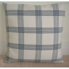 """16/"""" Cushion Cover Laura Ashley Willow Leaf Steel Willowbough Silver Grey Piped"""