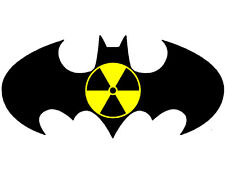 Nuclear batman sticker N-53